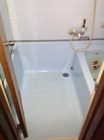 浴槽掃除後