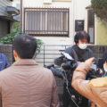 ネクスト代表の佐倉が、NHK報道局の方々から、遺品整理業界について取材を受けました。