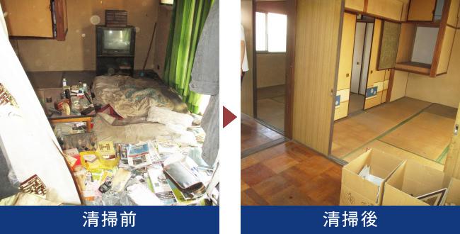 葉県松戸市の集合住宅で他界された方のご親族から遺品整理のご依頼をいただきました。