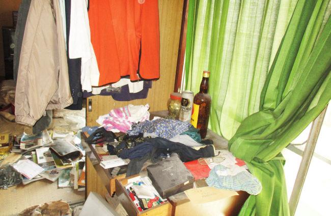 千葉県松戸市の集合住宅で他界された方のご親族から遺品整理のご依頼をいただきました。